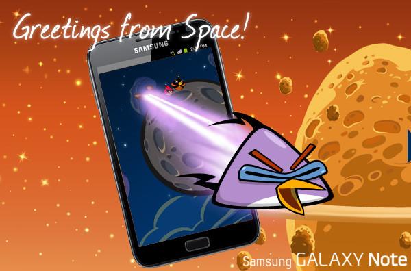 Android 4.0 + «злые птички» + новое ПО для стилуса для Samsung Galaxy Note